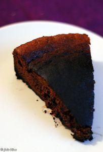 chocolate cake, Aix-en-Provence, France