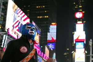 Blue Kisin in NYC, USA