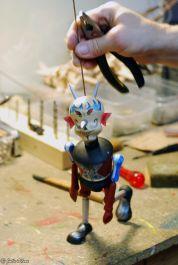 puppet class, Prague, Czech Republic