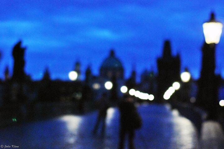 sunrise over Charles Bridge, Prague, Czech Republic