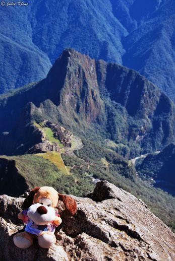 at Machu Picchu, Peru