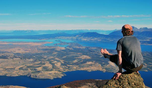 Hiking La Olla, Puerto Natales, Chile