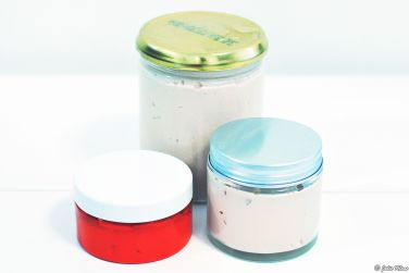 Home-made whipped body butter, Zero Waste