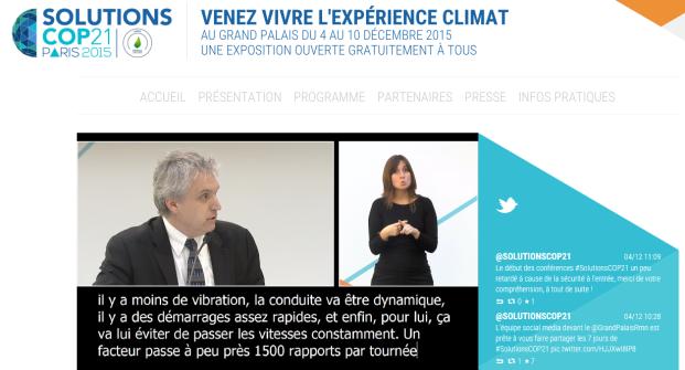 Solutions COP21, Paris, France