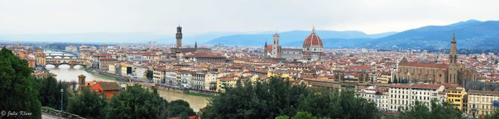 Over Florence, Italy