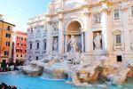 Fontana de Trevi, Rome, Italy