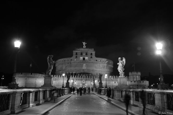 Rome by night, Italy