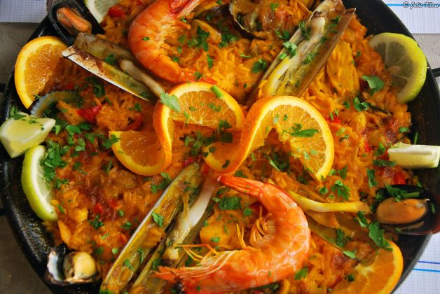 paella marinera, Tenerife, Canary Islands