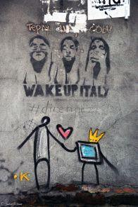 street art in Venice, Italy