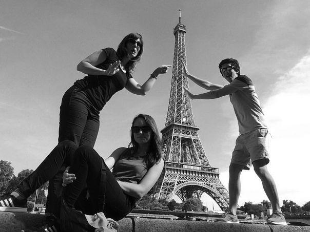 Eiffel Tower w/ Matias & Melissa, Paris, France