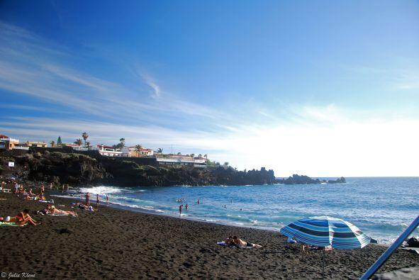 La Arena beach, Tenerife, Canary Islands