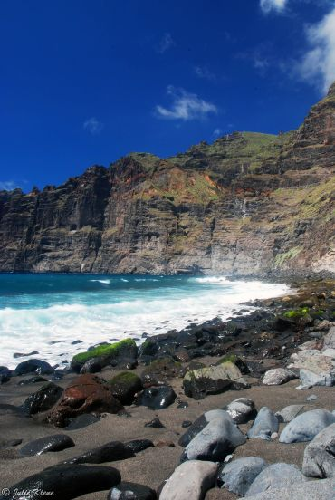 Los Gigantes beach, Tenerife, Canary Islands