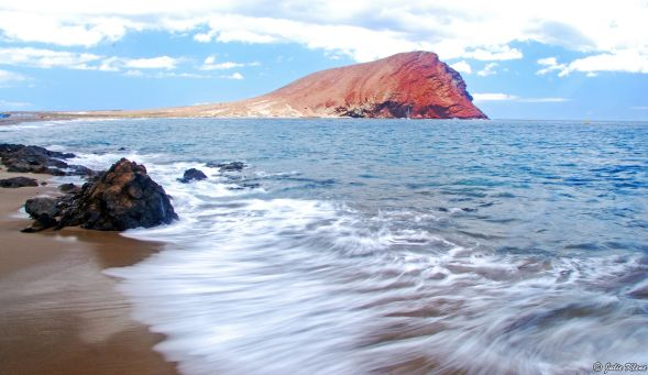 La Tejita beach, Tenerife, Canary Islands