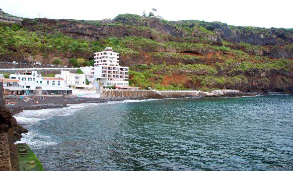 San Marcos beach, Tenerife, Canary Islands