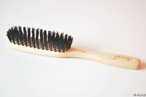 wild boar hair brush, zero waste