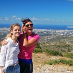 Garlaban hike with Marlis, Gemenos, France