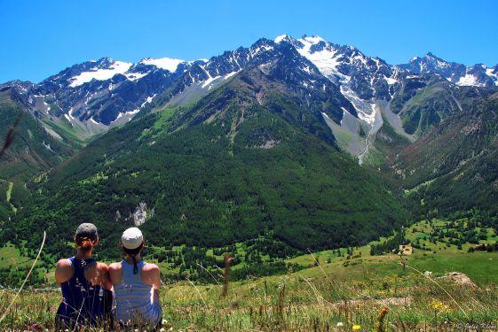 Monetier-les-Bains loop hike, Briançon, France