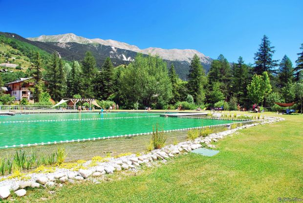 Organic swimming-pool, Briançon