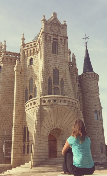 El Camino Day 26, to Astorga, Spain