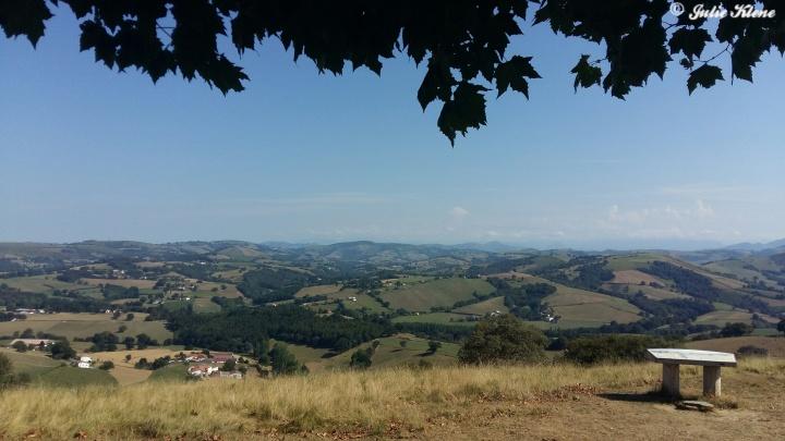 El Camino Day 2, to Ostabat, France