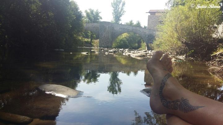 El Camino Day 6, in Zubiri, Spain