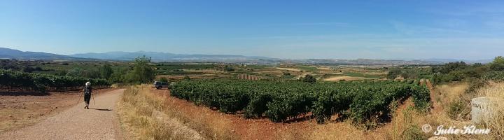 El Camino Day 12, to Najera, Spain