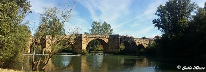 El Camino Day 22, to Bercianos, Spain