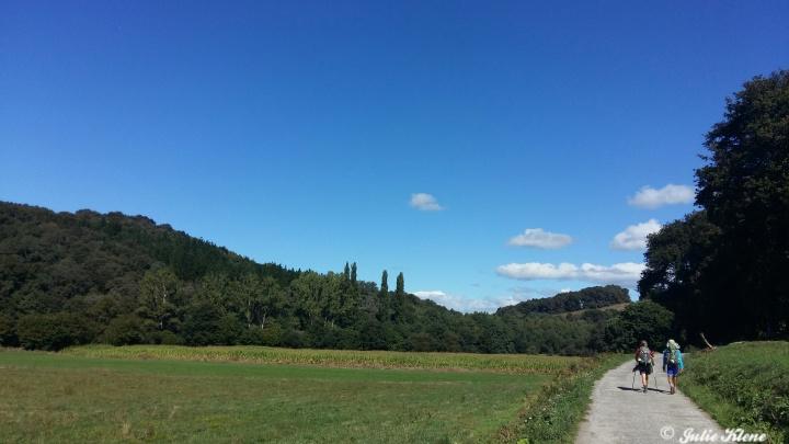 El Camino Day 32, to Sarria, Spain