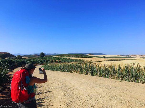 El Camino - Day 13 to Santo Domingo de la Calzada, Spain