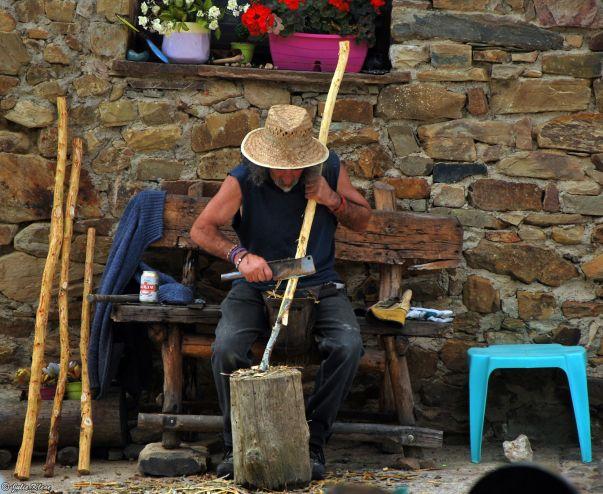 El Camino - Day 27, to Foncebadon, Spain
