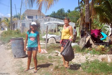 Earth Day on Holbox island, Mexico