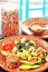 Breakfast at Cafecito, Holbox island, Mexico