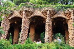 Parque Guell, Barcelona, Spain