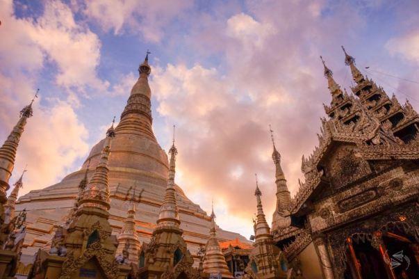 Shwedagon Pagoda, Yangon, Myanmar (@Notes of Nomads)