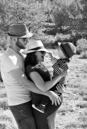 Family photo shoot, Aix-en-Provence, France