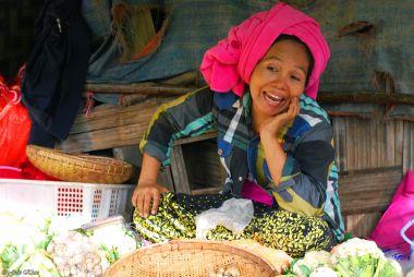 Market, Monywa, Myanmar