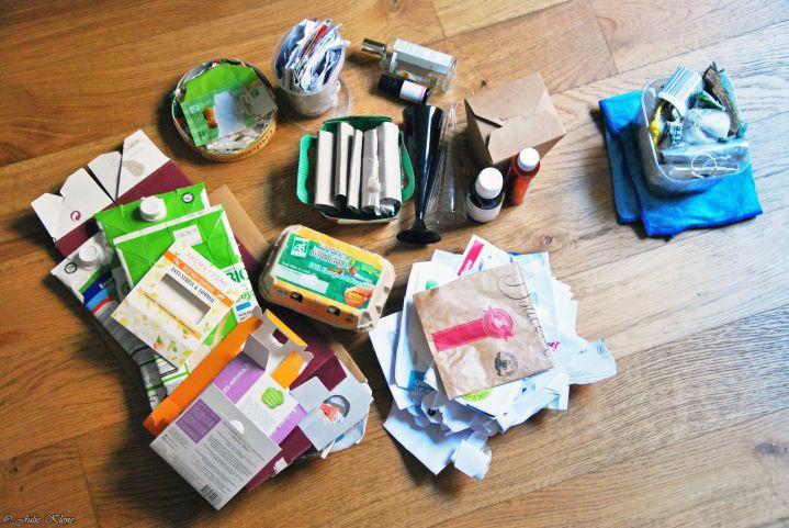 Démarche zéro déchet: Bilan de 3 mois à Paris en déchets etrecyclables