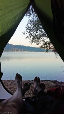 Gorges du Verdon, Lac de Ste Croix, France