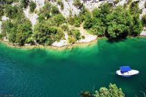 Gorges du Verdon, Lac de Quinson, France