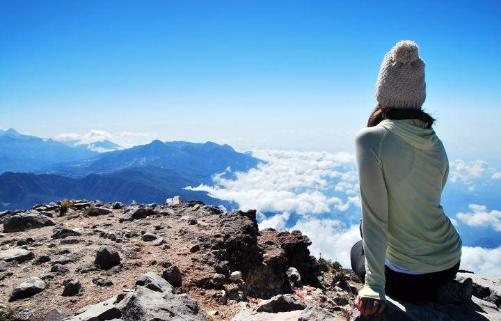 Randonner jusqu'au sommet du Volcan Tajumulco,Guatemala