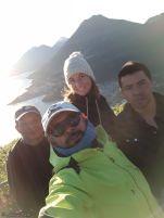 Sunrise at Indian Nose with guides Miguel & Helbert, Santa Clara, Lake Atitlan, Guatemala
