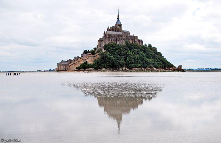 Traverser la Baie du Mt Saint-Michel àpied