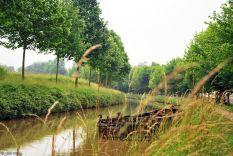 Canal de l'Ourcq: Vert-Galant - Meaux, France