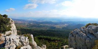 hiking Boucle du Cengle, Beaurecueil, Provence, France