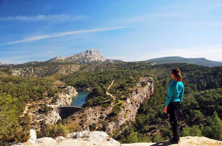 4 courtes randonnées panoramiques en Paysd'Aix