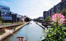 Canal de l'Ourcq: Paris - Vert-Galant, France