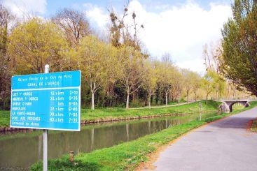 Canal de l'Ourcq: Meaux - Lizy-sur-Ourcq, France