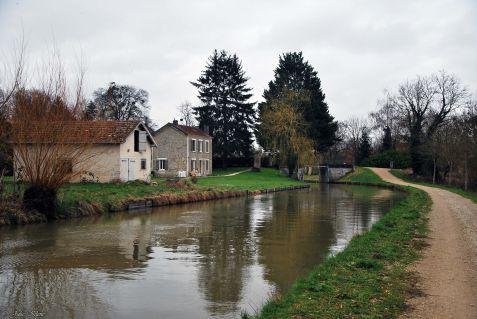 Canal de l'Ourcq: Lizy-sur-Ourcq - Mareuil-sur-Ourcq, France